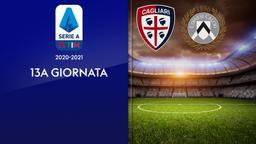 Cagliari - Udinese. 13a g.