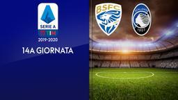 Brescia - Atalanta. 14a g.