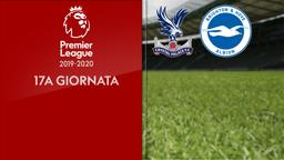 Crystal Palace - Brighton & Hove Albion. 17a g.