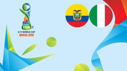 Ecuador - Italia. Ottavi
