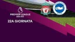 Liverpool - Brighton & Hove Albion. 22a g.