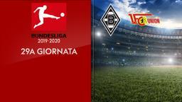 Borussia M. - Union Berlino. 29a g.