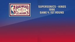 SuperSonics - Kings 1996. Game 4. 1st Round
