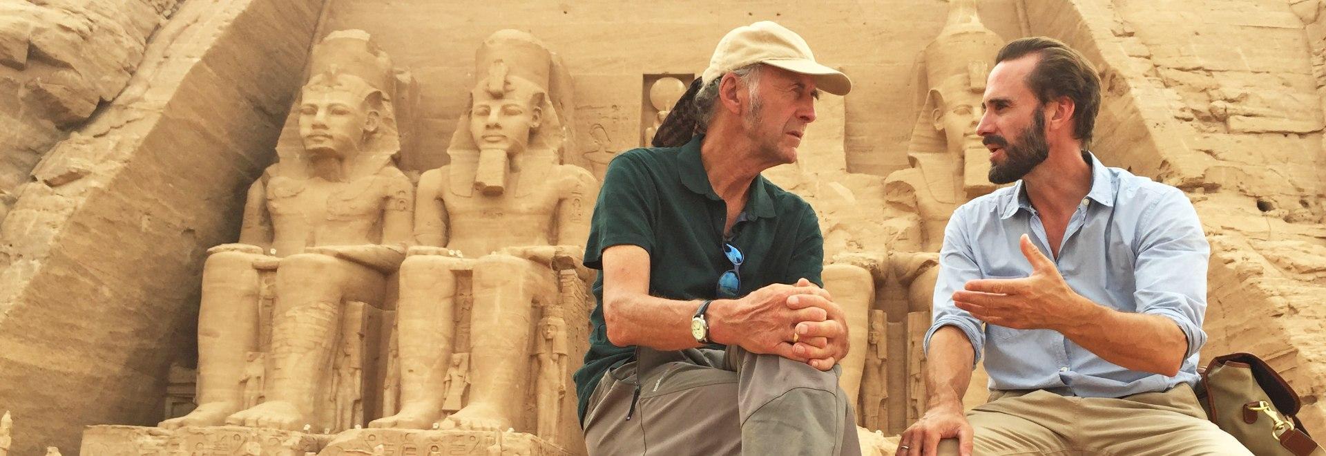 Ti porto io in Egitto con Ranulph e Joseph Fiennes