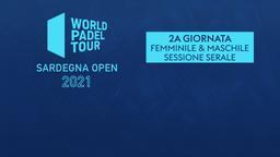 Sardegna Open: 2a g. F/M Sessione serale