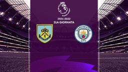 Burnley - Manchester City. 22a g.