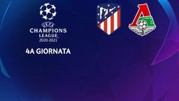 Atletico Madrid - Lokomotiv Mosca. 4a g.