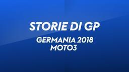 Germania, Sachsenring 2018. Moto3