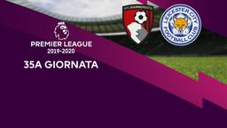 Bournemouth - Leicester City. 35a g.