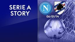 Napoli - Sampdoria 06/01/14. 18a g.