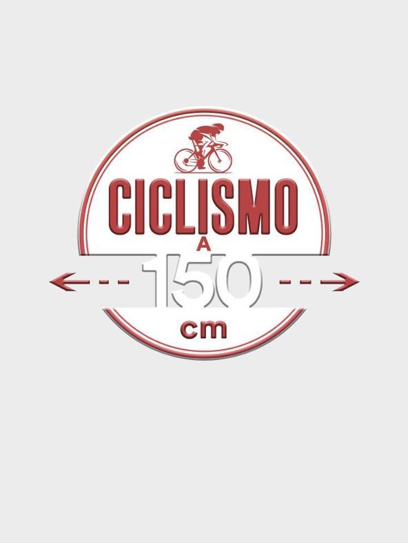 Ciclismo: Ciclismo a 150 cm