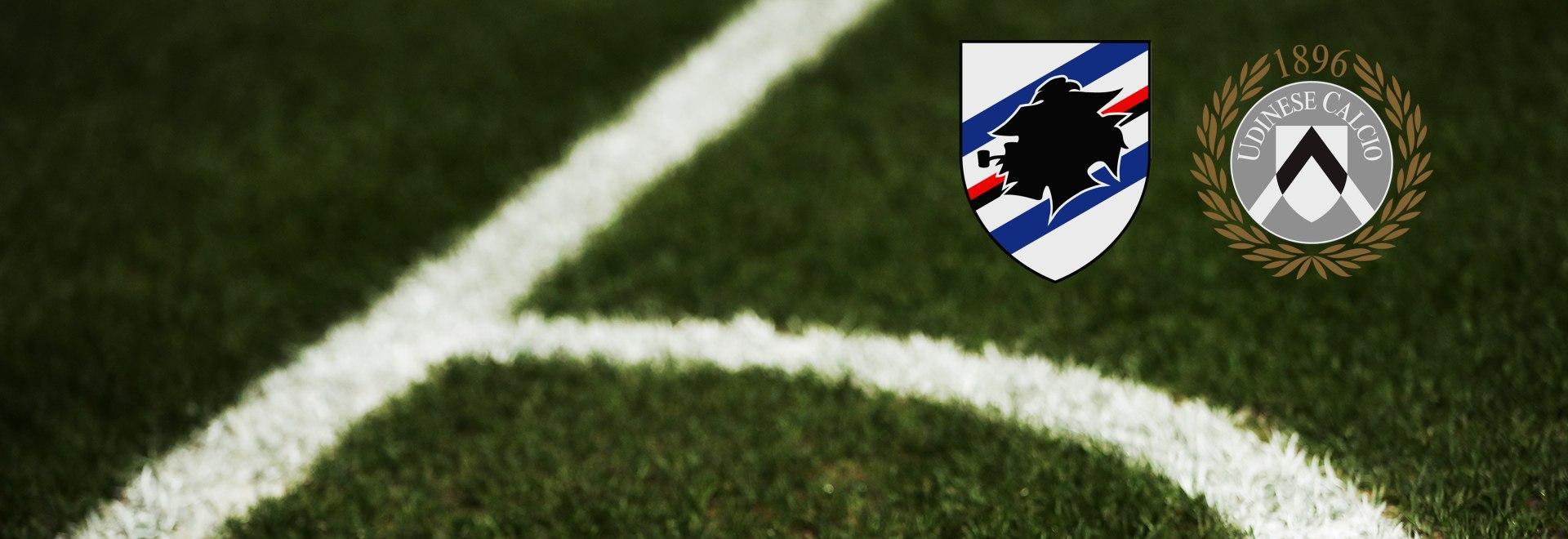 Sampdoria - Udinese. 18a g.