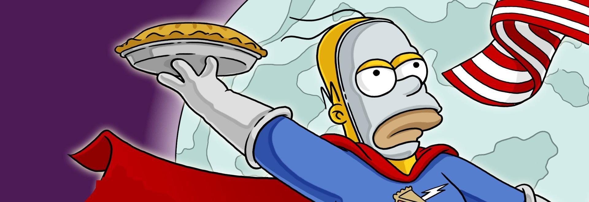 Homer Simpson: questa è tua moglie