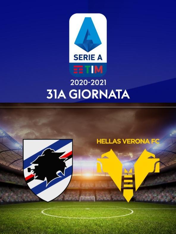 Sampdoria - Verona. 31a g.