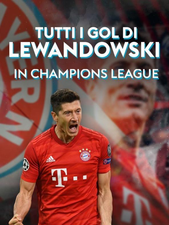 Tutti i gol di Lewandowski in Champions League