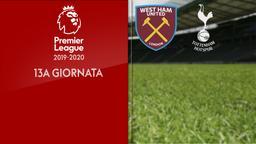 West Ham United - Tottenham. 13a g.