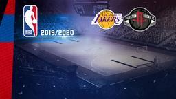 LA Lakers - Houston. West Conf Semis Gara 1