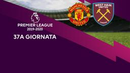 Man Utd - West Ham United. 37a g.