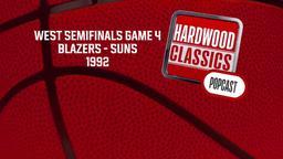 Blazers - Suns 1992. West Semifinals Game 4