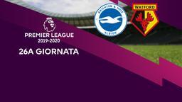 Brighton & Hove Albion - Watford. 26a g.