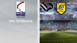 Palermo - Juve Stabia. 29a g.