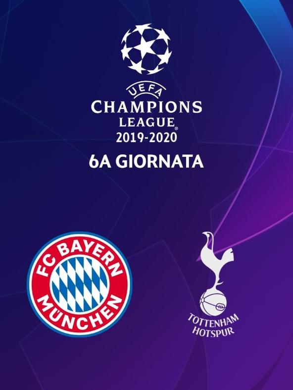 Bayern M. - Tottenham. 6a g.