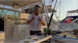 Traina col vivo al tonno