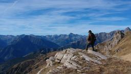 La caccia in montagna
