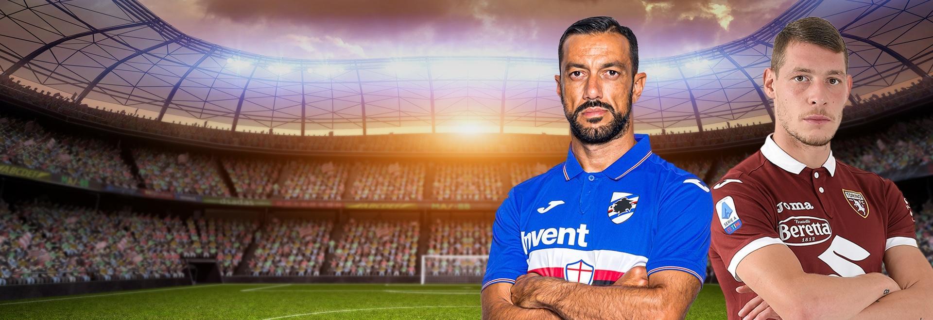 Sampdoria - Torino. 4a g.