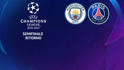 Manchester City - Paris. Semifinale Ritorno