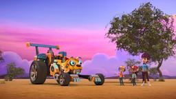 Rusty e l'avventura con le giraffe / Rusty e il caos nel cantiere
