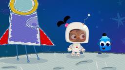 Astronauta / Anatra / Occhiali da sole