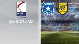 Paganese - Juve Stabia. 32a g.