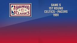 Celtics - Pacers 1991. Game 5. 1st Round