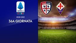 Cagliari - Fiorentina. 36a g.