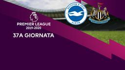 Brighton & Hove Albion - Newcastle. 37a g.