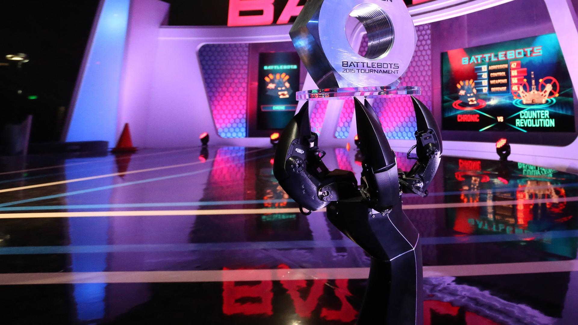 Blaze HD Battlebots: Botte da Robot