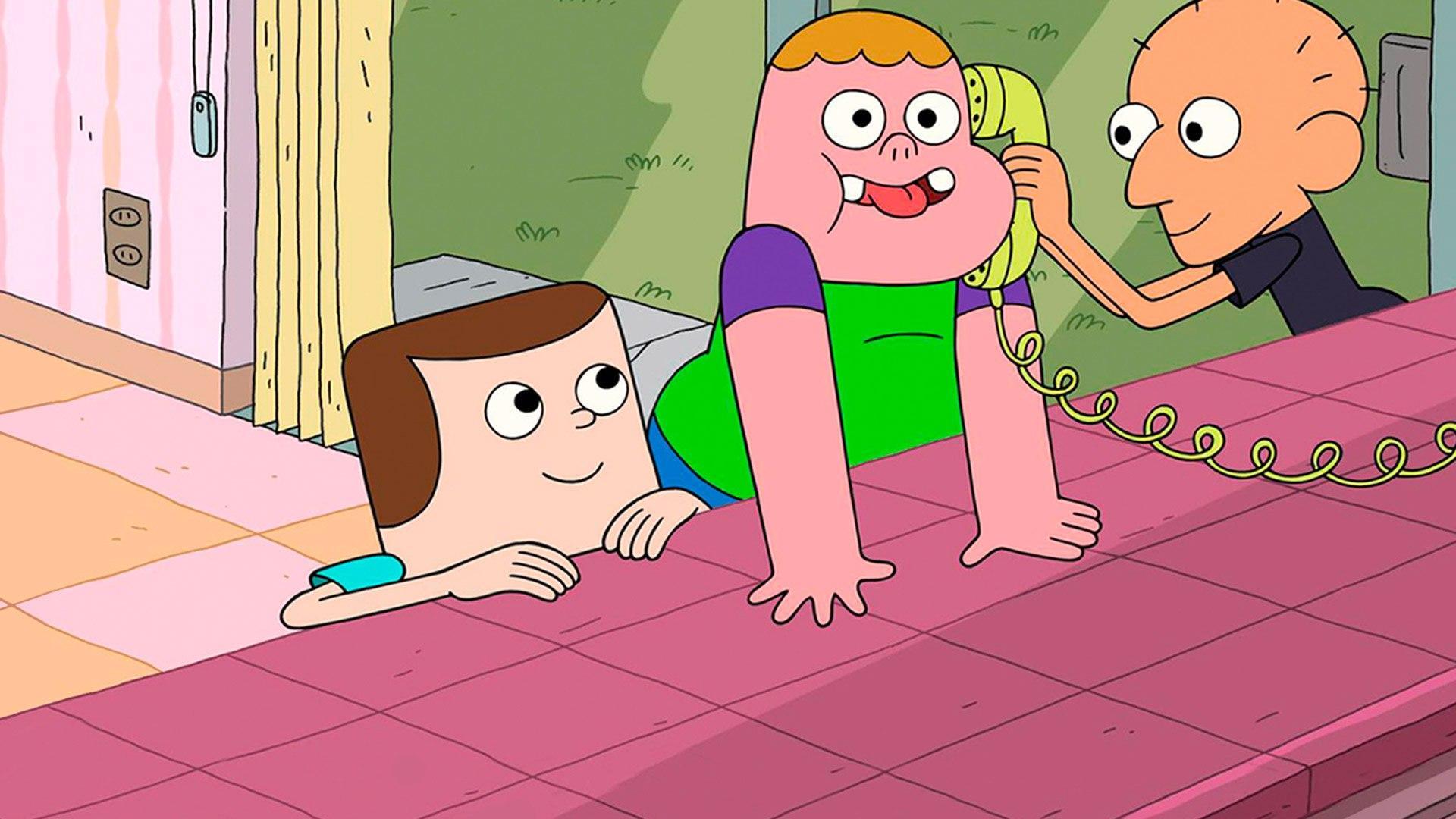 Cartoon +1 Clarence