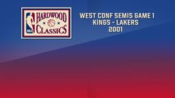 Kings - Lakers 2001. West Conf Semis Game 1