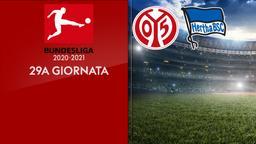 Mainz - Hertha B. 29a g.
