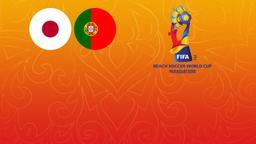 Giappone - Portogallo. 2a Semifinale