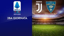 Juventus - Lecce. 28a g.