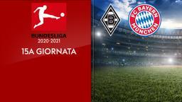 Borussia Moenchengladbach - Bayern Monaco. 15a g.