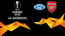 Molde - Arsenal. 4a g.