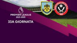 Burnley - Sheffield United. 33a g.