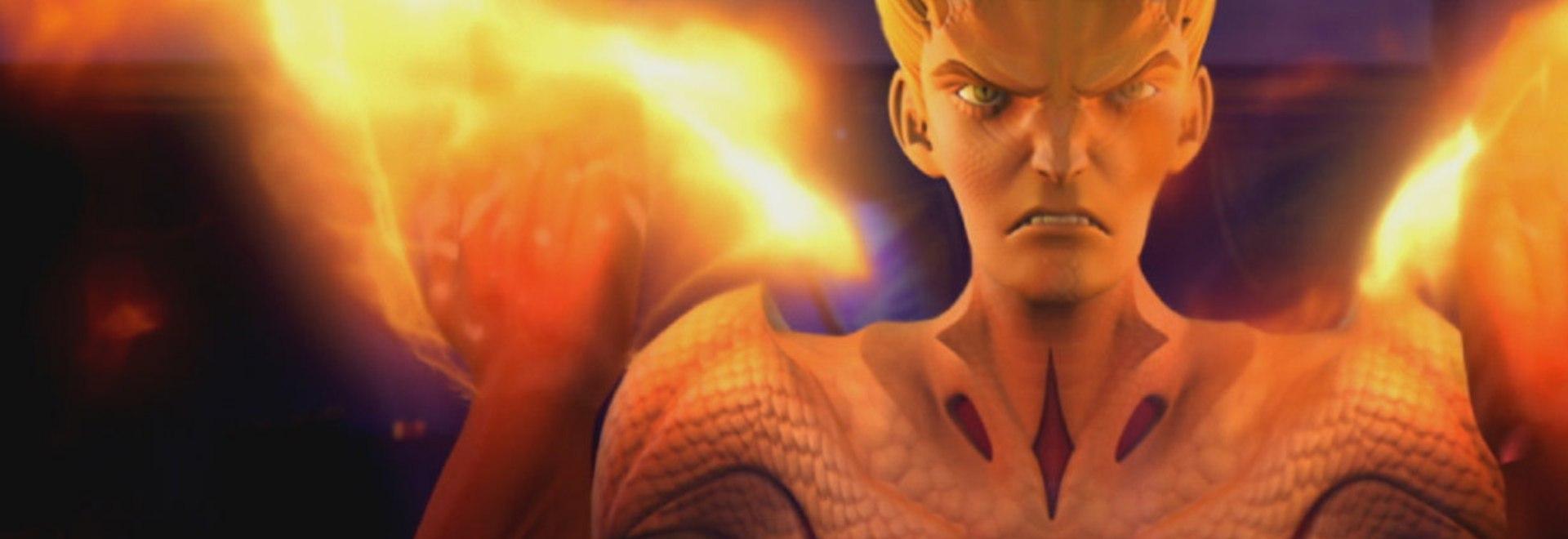 Firebreather: I due mondi