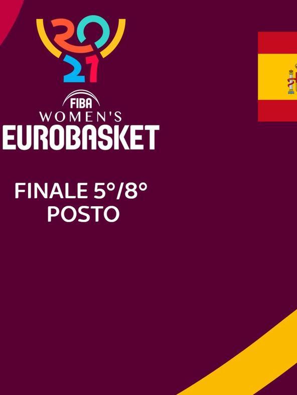 Spagna - Russia. Finale 5/8 posto