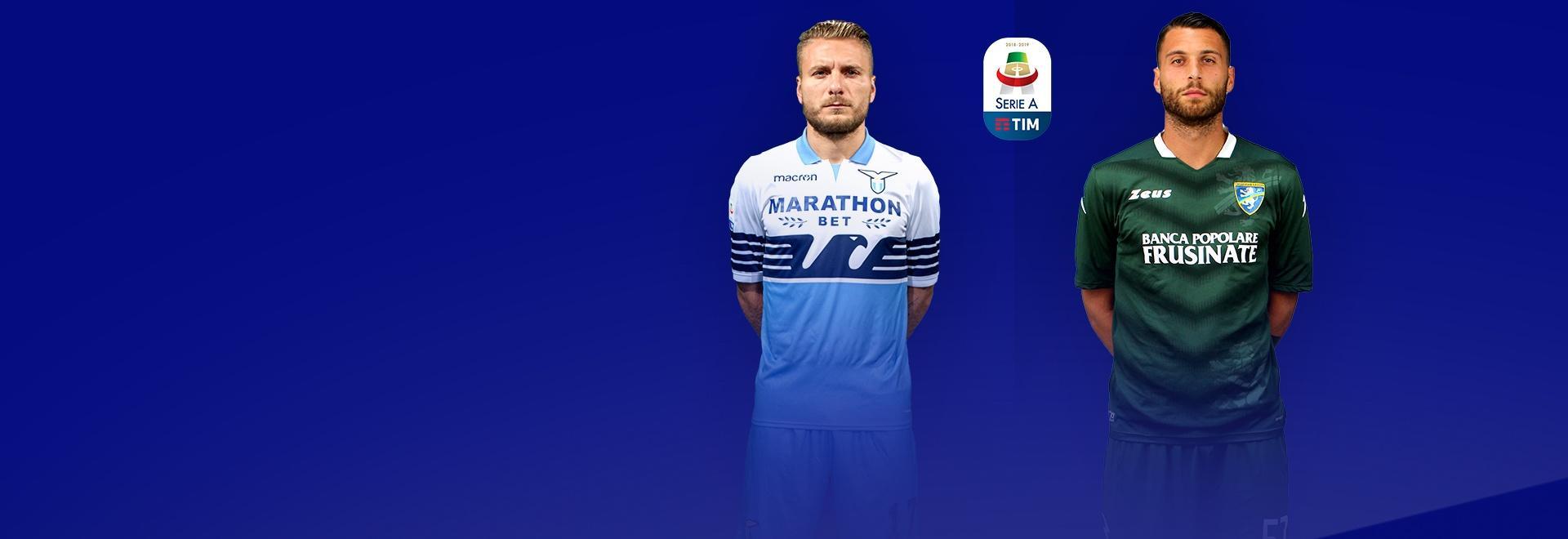 Lazio - Frosinone. 3a g.