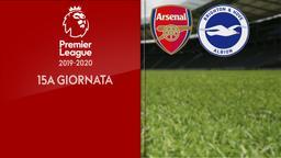 Arsenal - Brighton & Hove Albion. 15a g.