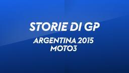 Argentina 2015. Moto3